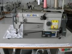 Maquina de costura Global CH5001, ponto cadeia 1 agulha