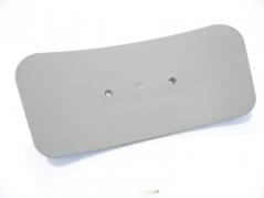 Encosto Plastico Cadeira Gas Cinza