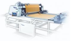 Estender automatico Autex Linea Pro com berço de tapete, cortadora automática, painel de controlo direito, 2.2mts util