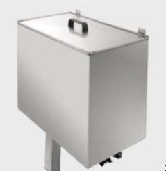 Deposito de condensados em inox 70litros Battistela com control de temperatura