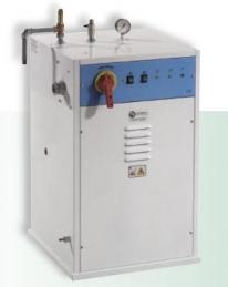 Gerador de vapor Battistela SATURNO MAX L24, com caldeira de 24 litros (9+9Kw)