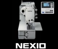 Maquina de casear electronica Brother HE 800C-2 com caixa de controlo, tampo e bancada nacional