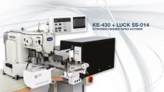 Maquina de costura Brother KE430-LUCK SS-014, de cortar e aplicar fitas de pendurados
