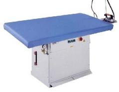 Mesa rectangular marca Comel MP/F/PV, vaporizante, com aspiração e caldeira18km -380Volts - 180x90cm