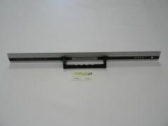 Regua de aluminio de 600mm com pega