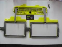 Conjunto de bastidor PR600 28x12,5cm e 20x12.5cm com suporte