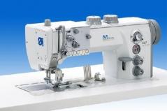 Maquina de costura triplo arrasto Durkopp Adler 867-394342 AE E80 de afitar edredons, com corte de linha, remate de linha e levantamento de calcador