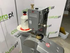Maquina de costura de ponto cadeia Dohle Kl.621-904 com rodas de polyamide e dispositivo de estabilização, com motor de embraiagem trifásico HS code 8452 29