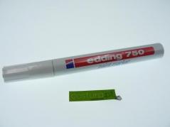 Marcador branco Edding 750