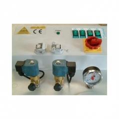 Caldeira Comel FB/F 3E 3R 6KW+Bomba+3 electrovalvulas+ 3 resistências FP2ESF3R