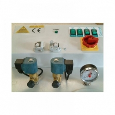 Caldeira Comel FB/F-3R 6KW+Bomba+2 electrovalvulas+ 3 resistências FP2ESF3R