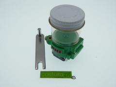 Copo de silicone para lubrificar linha