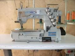 Maquina de Costura recobrimento base plana Kingtex FTD-7000-0-356M/UFP-BU