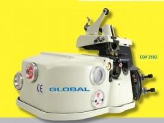 Maquina de costura de orlar / debruar tapetes Global COV 2502 SK