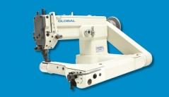 Maquina de costura de braço zigzag Global FOZ 522