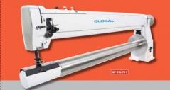 Maquina de cost braco longo GLOBAL WF 976-70 C com motor Ho-Hsing i60-4-GL-220