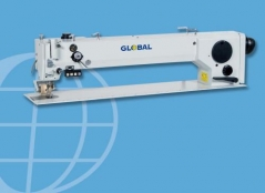 Maquina de cost braco longo zigzag GLOBAL 567-75-TD + PULLER