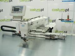 Maquina de costuras programáveis Jack JK-T6040D com campo de 600x400mm