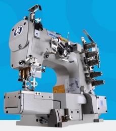 Maquina de costura Jack JK-8669DII-01GBX356/UT, corte de linha e levantamento de calcador