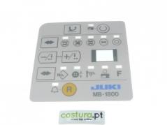 Painel Frontal do programador Juki MB1800