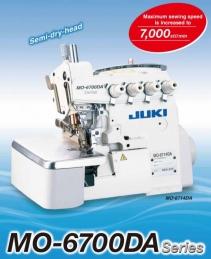 Máquina de costura Juki MO-6716DA-DE6-307 3x4 - 2 agulhas 5 fios