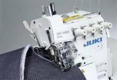 Máquina de costura corte e cose para grossos Juki MO-6916J-FH6-700 Arrasto Superior- 2 ag 5 fios