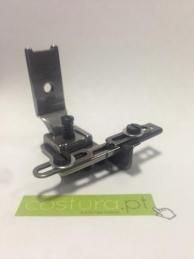 Calcador de zig zag com guia e ajuste de elastico