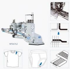 Maquina de Costura flat lock Kingtex NTD-67-12-M6/TT-S34/CV014-TC-01
