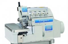 Maquina de corte e cose Kingtex Mod.UHD-9004-243-M14 - 4 fios com motor servo, corte de linha, levantamento de calcador e aspiração de desperdício