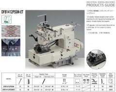Maquina de costura de 12 agulhas Kansai Special DFB1412 PSSM-ET