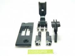 Transformação 2 agulhas 5/16 - 8mm Juki LH-3568A-7