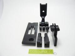 Transformação 2 agulhas 1/4 - 6.4mm Juki LH-3588A-7