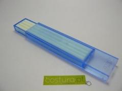 Minas ultravioleta Brancas caixa azul (Pack de 4)