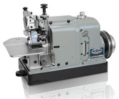 Maquina de costura Merrow 70-D3B-2, com motor servo, tampo e bancada nacional