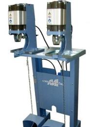 Maquina de meter molas de duas cabecas pneumatica METALMECCANICA MT20