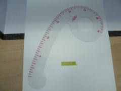 Regua curva modelismo 35