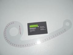 Regua curva modelismo 40