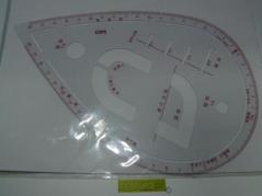 Regua curva modelismo lagrima