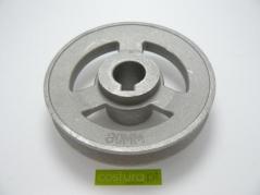 Polia Eixo Conico - Diam. 80mm - furo 11mm