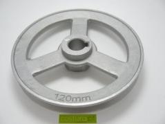 Polia eixo Conico - DIM. 120MM - furo 11mm