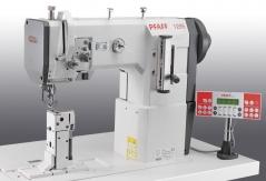 Maquina de costura triplo arrasto de coluna PFAFF 1295-6/01 CLPMN