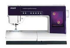 Maquina de cost/bordar PFAFF creative performance com kit de bordar