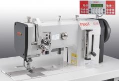 Maquina triplo arrasto duas agulhas PFAFF 1246-6/01 CL X 16.0 PMN, com tampo e bancada nacional