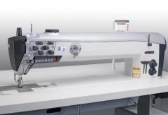 Maquina de costura triplo arrasto braco longo 70mm - 2 agulhas PFAFF 2546-521/001 PLUS -6/01 CLx10,0N9/925/03/909/12 motor P74ED