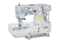Maquina de costura meter coloretes Pegasus W3562P-02GX356BS/TK3C, com corte de colorete