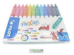 Pack de 12 Canetas Feltro Frixion Pilot (Sai com vapor)