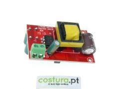 Placa eletronica para candeeiro de leds de alta intensidade