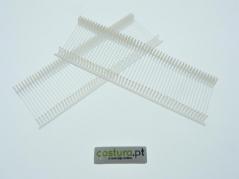 Pinos plásticos Nylon em pente normal 25mm ( 5000unid )