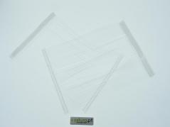 Pinos plásticos PP em pente normal 125mm ( 5000unid )