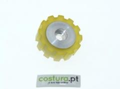 Roda de borracha dentada para puller ( T32x11 )